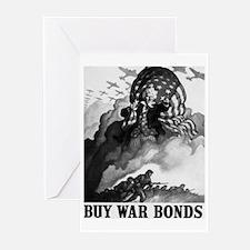 Buy War Bonds Art Greeting Cards (Pk of 10)