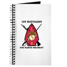 1st Battalion - 8th Marines with Text Journal