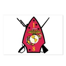 1st Battalion - 8th Marines Postcards (Package of