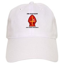 3rd Battalion - 8th Marines with Text Baseball Cap