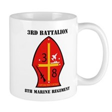 3rd Battalion - 8th Marines with Text Mug