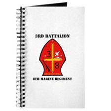 3rd Battalion - 8th Marines with Text Journal
