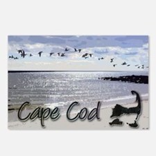 Cute Cape cod Postcards (Package of 8)