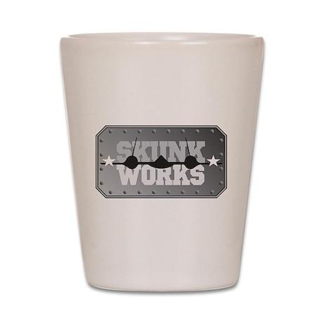 Skunk Works Shot Glass