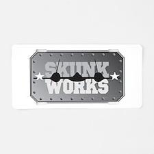Skunk Works Aluminum License Plate