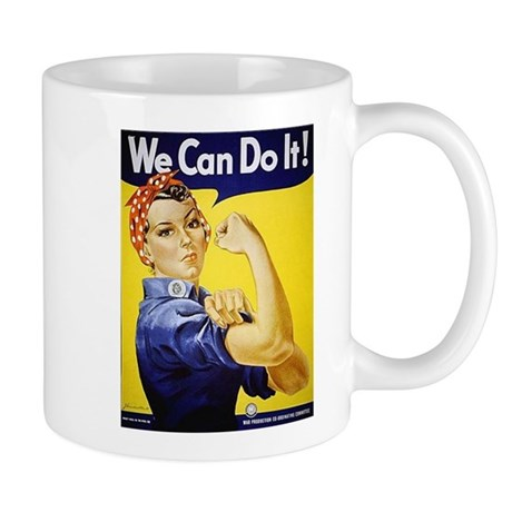 Rosie the Riveter Art Mug