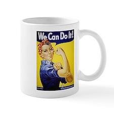 Rosie the Riveter Art Mug