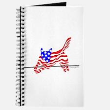 Agility Flag Dog Journal