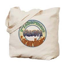 FISHERMAN GRANDPA Tote Bag