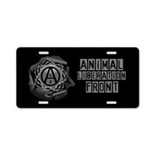 ALF 01 - Aluminum License Plate