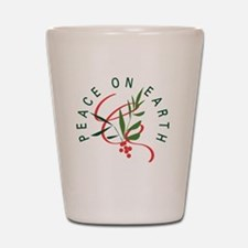Peace On Earth Shot Glass