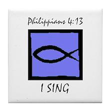 The Christian Singer Tile Coaster