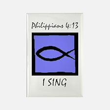 The Christian Singer Rectangle Magnet (10 pack)