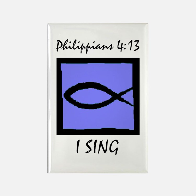 The Christian Singer Rectangle Magnet (10 pack)