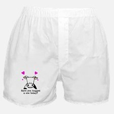 Hug a cow Boxer Shorts