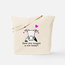 Hug a cow Tote Bag