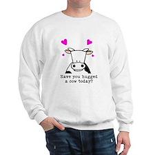 Hug a cow Sweatshirt