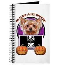 Just a Lil Spooky Yorkie Journal