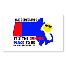 The Berkshires It's the summe Decal