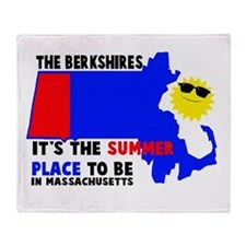 The Berkshires It's the summe Throw Blanket