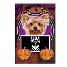 Just a Lil Spooky Yorkie Postcards (Package of 8)