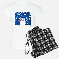 Holiday Snowman Pajamas