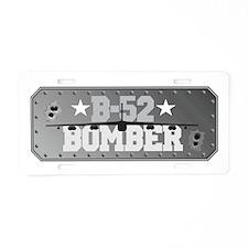 B-52 Bomber Aviation Aluminum License Plate