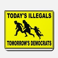 THEY KEEP COMING Mousepad