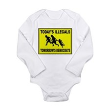 THEY KEEP COMING Long Sleeve Infant Bodysuit