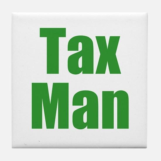 Tax Man Tile Coaster