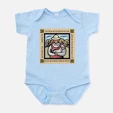 Vegetarian da Vinci Quote Infant Bodysuit