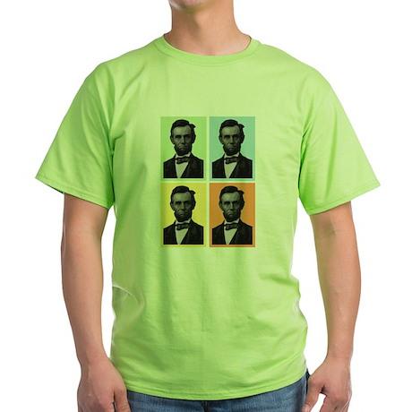 4 Score Lincolns Green T-Shirt