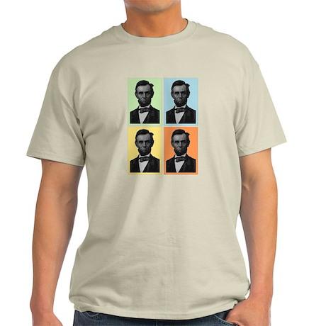 4 Score Lincolns Light T-Shirt