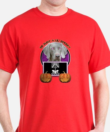 Just a Lil Spooky Weimie T-Shirt