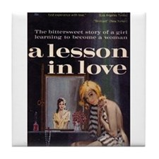 A Lesson in Love Tile Coaster
