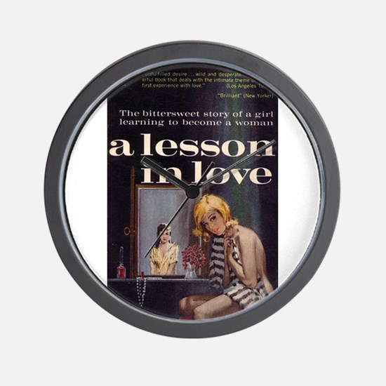 A Lesson in Love Wall Clock