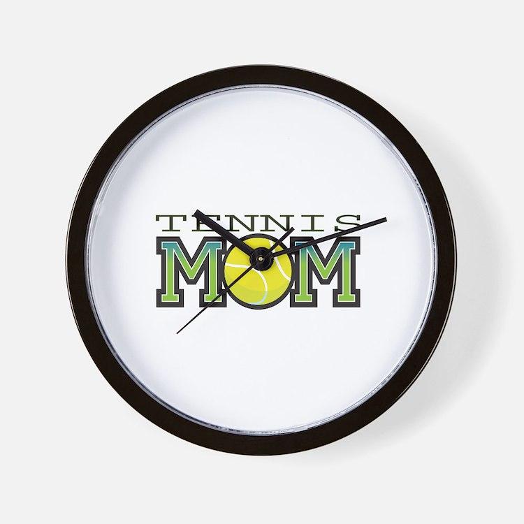 Tennis Mom Wall Clock