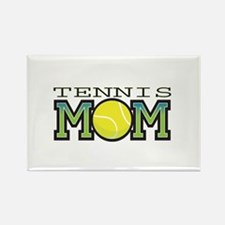 Tennis Mom Rectangle Magnet