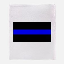 Throw Blanket - Thin Blue Line - High Quality