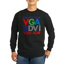 VGA to DVI T