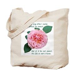 A Rose by any Other Name double-sided Tote Bag