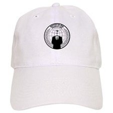 Anonymous Hackers Baseball Baseball Cap