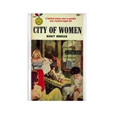 City of Women Rectangle Magnet
