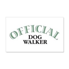 Dog Walker 22x14 Wall Peel
