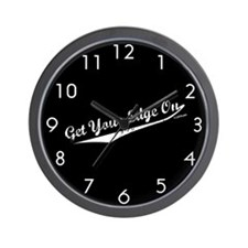 Get Your Edge On Wall Clock