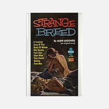 Strange Breed Rectangle Magnet