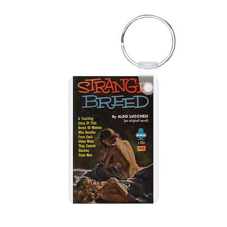Strange Breed Aluminum Photo Keychain