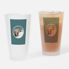 PolarBear1 Drinking Glass