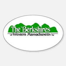 The Berkshires Sticker (Oval)