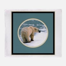PolarBear1 Throw Blanket